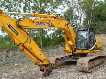 Daily Equipment Rental: JCB JS220 Tracked Excavator