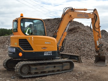 Daily Equipment Rental: Hyundai R80CR-9 Tracked Excavator