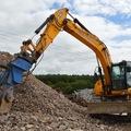 Daily Equipment Rental: JCB JS160W Wheeled Excavator