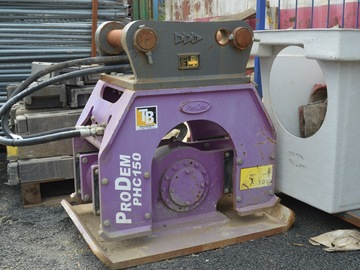 Daily Equipment Rental: Prodem PHC150 Earth Compactor