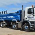 Daily Equipment Rental: DAF 32 Tonne 8 Wheeler Tipper Truck