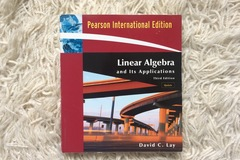 Myydään: Linear Algebra and Its Applications - 3rd edition