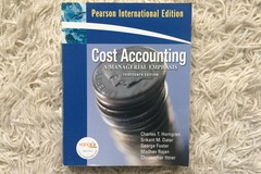 Myydään: Cost Accounting - a managerial emphasis - 13th edition
