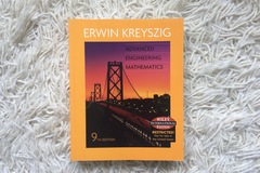 Myydään: Advanced Engineering Mathematics - 9th edition