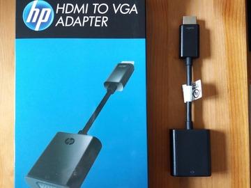 Myydään: VGA to HDMI cable