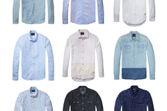 Sell: Scotch & Soda mens long sleeve button fronts 30pcs