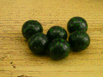 """Vente au détail: Perles maison en pâte polymère """"Jade"""""""