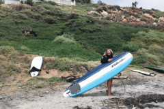 For Rent: 8' Wavestorm - Foam Longboard