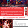 Offering: Nutcracker Camp & Ballet Training - 12 Class Package
