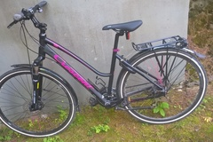 Myydään: Great hybrid bicycle in mint condition