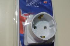 Myydään: Matkasovitin / Travel adapter EU --> AU/NZ