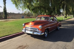 Renting out per day: 1951 Chevrolet Deluxe