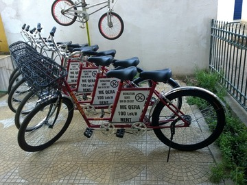 Hourly Rate: Short tandem bicycle