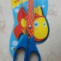 Vente au détail: ciseaux enfant imprimé poisson rouge