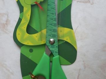 Vente au détail: ciseaux enfant imprimé serpent