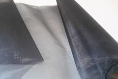 Sale retail: ruban organza noir