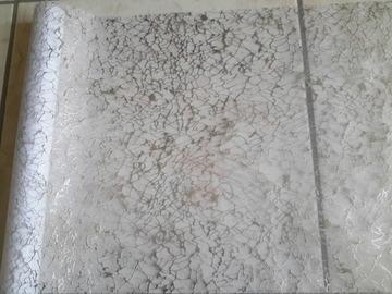 Vente au détail: ruban organza transparent avec rainures argentées