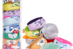 Sell: Stakems® Stack Up High Furry Plush Toy Collectibles, 8 Pack