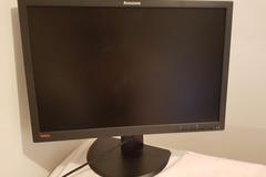 """Myydään: 24"""" Lenovo monitor"""