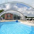 NOS JARDINS A LOUER: COEUR BOURGOGNE jardin piscine couverte ping pong MAGNIEN  21230