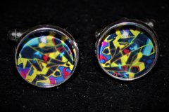 Selling:  Graffiti CUFF Links and Tie Clip Set