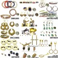 Sell: 1000 pcs JEWELRY LOT OF EARRINGS AND BRACELETS, SILVER GOLD