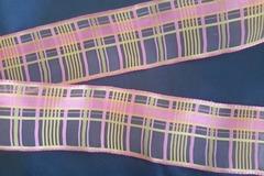 Sale retail: ruban biais à motifs géométriques