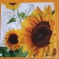 Vente au détail: serviette en papier fleur tournesol