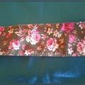 Sale retail: ruban fleuri