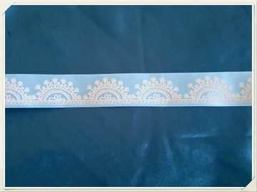 Vente au détail: ruban bleu satiné style reine des neiges