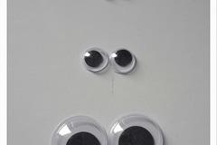 Vente au détail: paire yeux mobiles lot 3 modèles