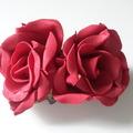 Vente au détail: roses rouges en mousse  lot 2