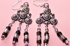 Selling: Boho Chic - Chandelier Earth Toned Womens Earrings