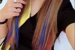 Myydään: Colorful wig strips