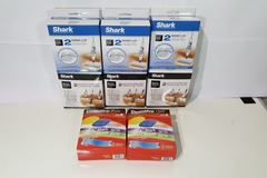 Sell: (8) New Shark Sonic-lift, Steam-Pocket, Bissell Mop Pads 2pk