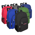Sell: 24 Trailmaker Deluxe 19 Inch Backpack With Padding 6 Colors