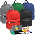 Sell: Preassembled 17 Inch Backpack & 12 Piece School Supply Kits