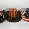 Sell: 6 Straw Cowboy Hats - Styles Stars 'n Stripes and More