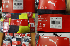 Sell: Puma Socks bulk deal 250packs