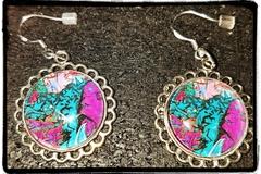 Selling: Graffiti Photo Earrings - Women's Earrings