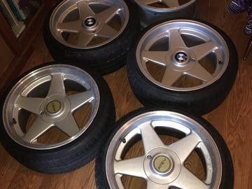Selling: 17x8.5 | 5x100 | Azev Type A wheels for sale