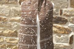 A vendre: Écharpe tissée main alpaga et mouton
