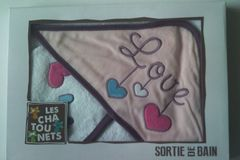 Vente: Cape de Bain Love Les Chatounets