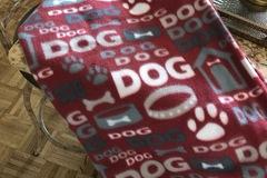 Product: Fleece dog blanket 29 x 35