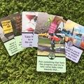 Giving Away: Energy-Saving Self Care Cards