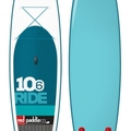 """For Rent: Red Air Inflatable SUP 10'6"""""""
