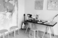 Renting out: Työhuone ja galleria Meilahdessa
