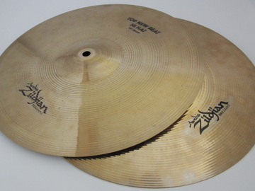 "Renting out: A Zildjian 14"" New Beat hi hats"