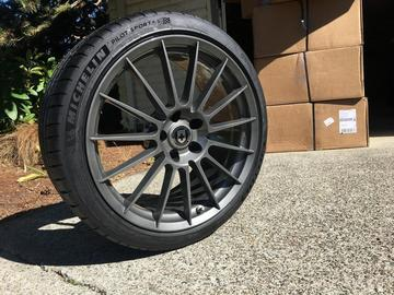Selling: 19x9.5 | 5x112 | HRE FF15 wheels for sale