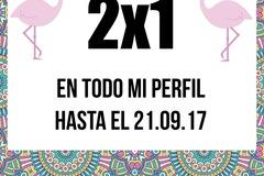 Regalando: 2x1 EN TODOS LOS PRODUCTOS DE MI PERFIL